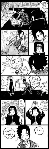 Sasuke v. Itachi round 1 page3