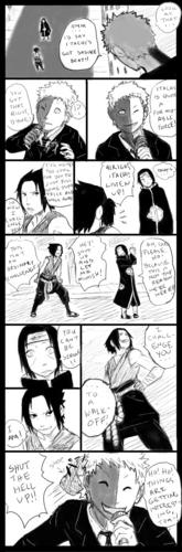 Sasuke v. Itachi round 1 page4