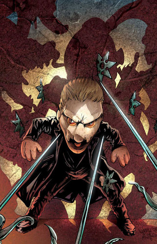 Buffyverse Comics achtergrond with anime entitled Spike: Shadow Puppets art