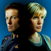 Starbuck and Apollo ~ Battlestar Galactica Icon