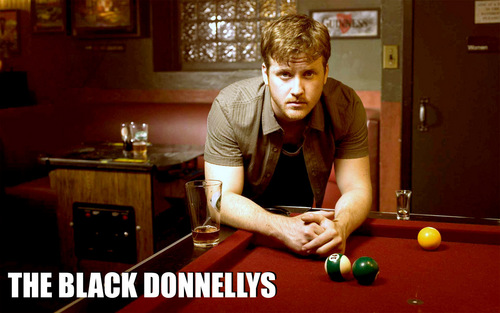 The Black Donnellys wallpaper possibly with a poolroom, a billiard room, and a pool table titled Jimmy Donnelly Widescreen Wall
