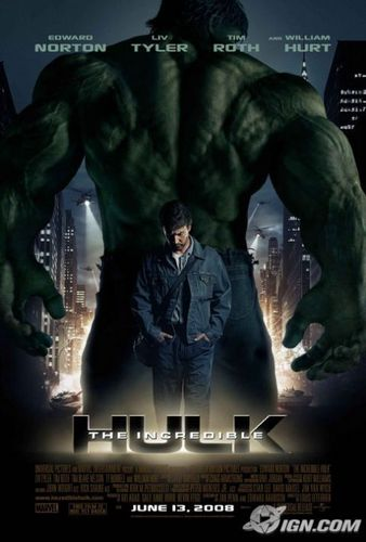 The Hulk Cover - edward-norton Photo