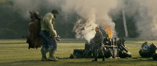 The Incredible Hulk - edward-norton Screencap