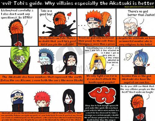 Tobi: why Akatsuki is Better