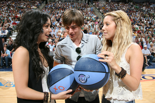 Vanessa, Zac & Ashley