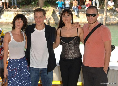 Venice film festival- the brothers grimm photocall
