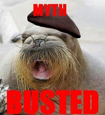 Walrus Jamie - mythbusters Fan ArtMythbusters Busted Sign Gif