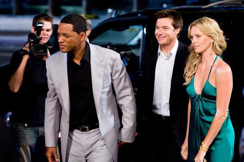 Will Smith, Jason Bateman, and Charlize Theron