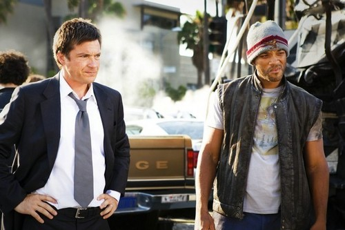 Will Smith and Jason Bateman in Hancock - hancock Screencap
