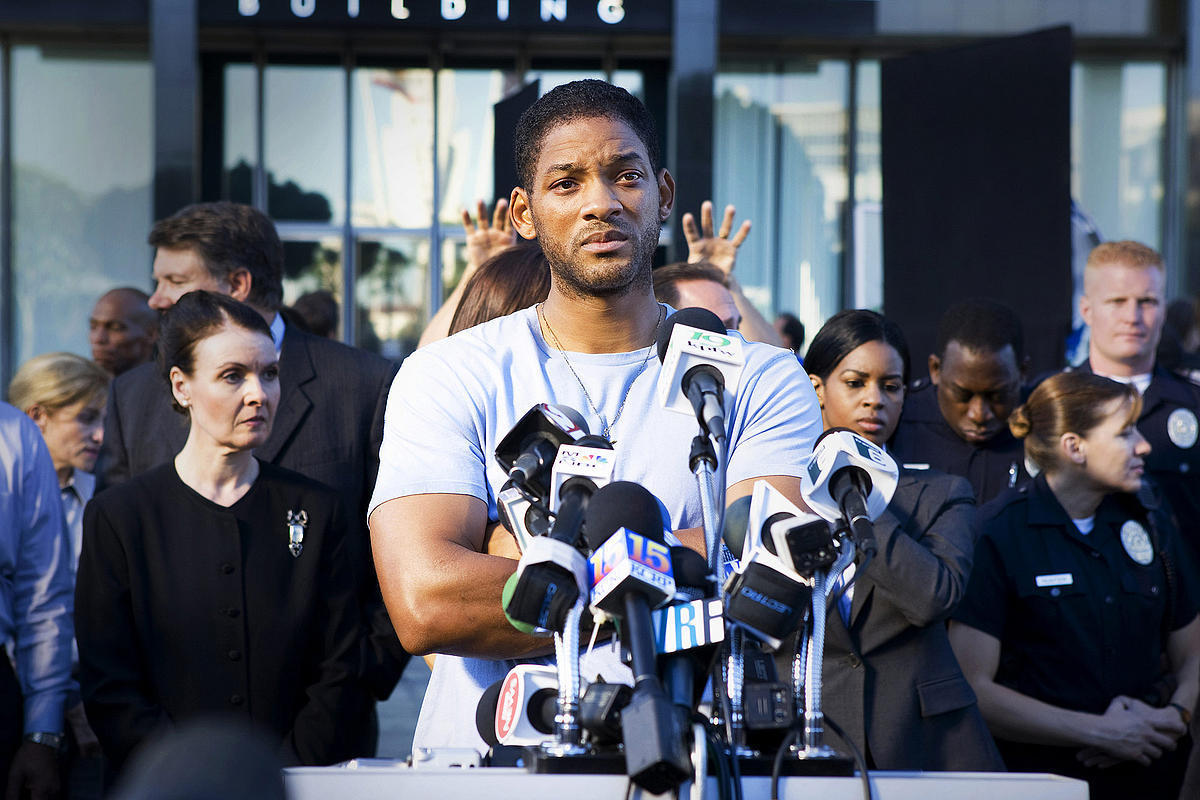 Image result for hancock will smith press conference