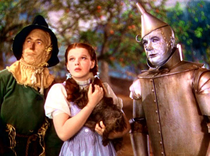 Wizard of oz movie blunders