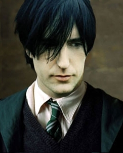 Severus Snape wallpaper probably containing a business suit called Young Severus Snape