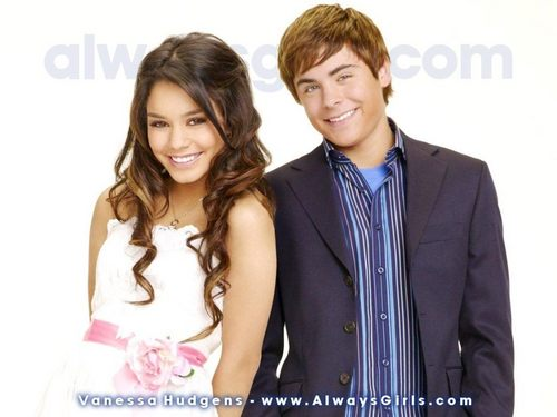 Zac Efron & Vanessa Hudgens wallpaper with a well dressed person and a portrait called Zanessa