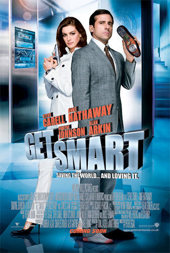 Get Smart (2008 Movie) Hintergrund probably containing a sign and an outerwear called get smart 2008