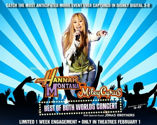 hannah best of both worlds concert - hannah-montana Wallpaper
