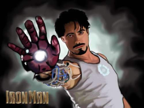 iron man Fan art (speedpainting)