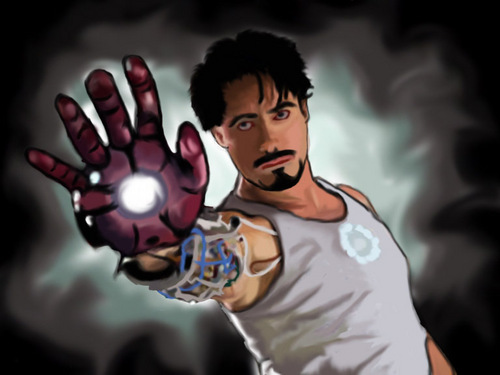 iron man ファン art (speedpainting)