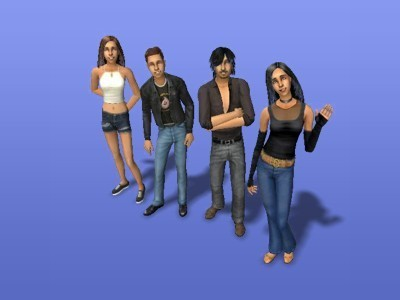 my the sims family