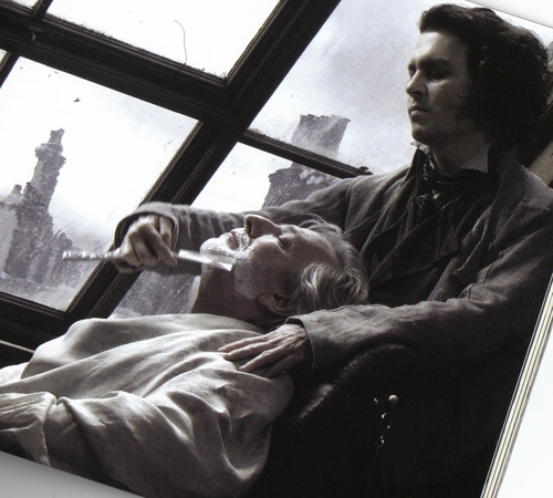 ouch - benjamin-barker-sweeney-todd Photo