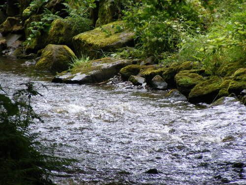 rocky river - photography Photo