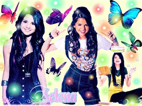 Selena Gomez wallpaper probably with anime entitled selena g
