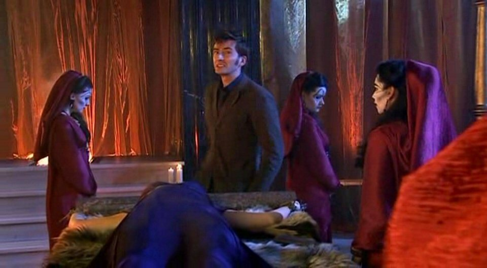 4x01 The Fires of Pompeii