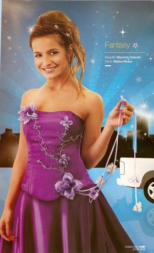 Brenda in magazine