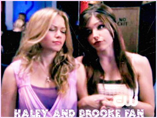 Brooke and Haley پیپر وال with a portrait called Brooke & Hales