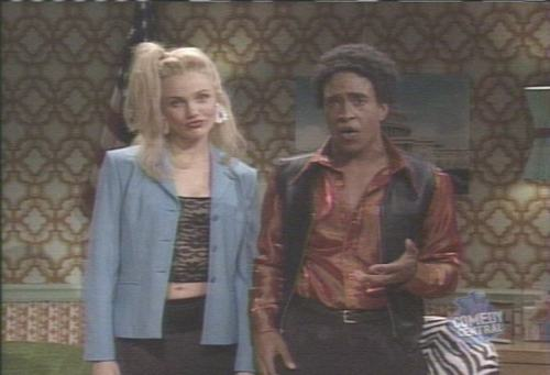 Cameron Diaz on SNL &#39;98 - saturday-night-live Screencap
