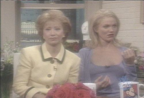 Cameron Diaz on SNL '98 - saturday-night-live Screencap