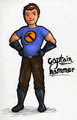 Captain Hammer Drawing - dr-horribles-sing-a-long-blog fan art