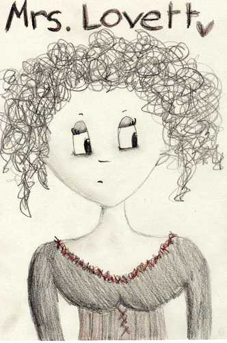 Cartoon Mrs.Lovett