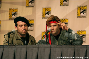Comic-Con 2008 - The Frog Brothers