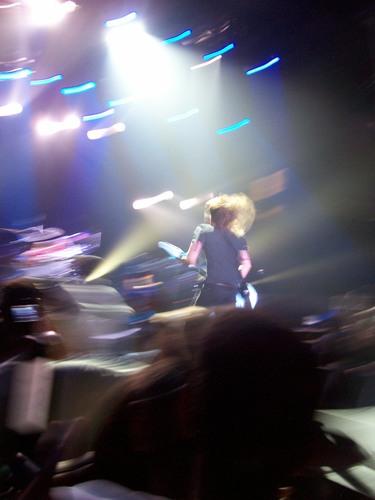 Concert-Rochester,NY (Blue пересекать, крест Arena)