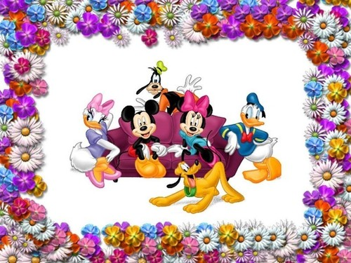Classic Disney پیپر وال entitled Disney Frame