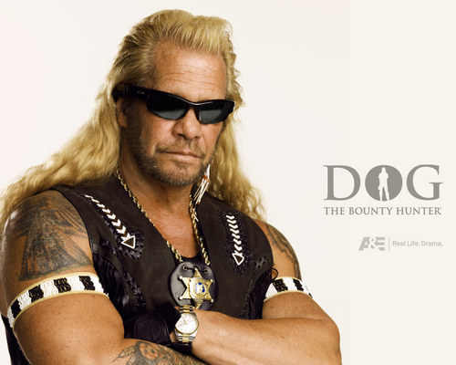 Dog the Bounty Hunter hình nền with sunglasses titled Dog