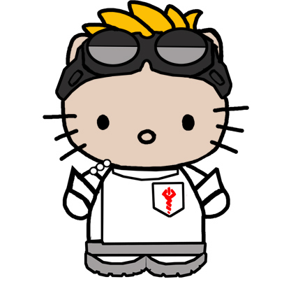 Dr. Horrible's Sing-A-Long Blog wallpaper possibly with a venn diagram called Dr. Hello Kitty?