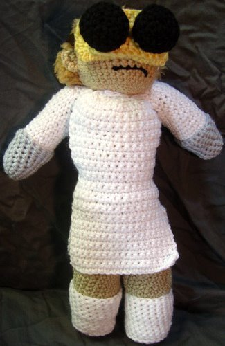 Dr. Horrible Crochet boneka