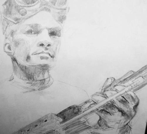 Dr. Horrible's Sing-A-Long Blog wallpaper probably containing a flute titled Dr. Horrible Sketch