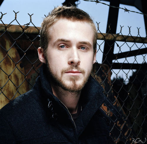 Ryan Gosling wallpaper containing a chainlink fence entitled Flaunt Photoshoot