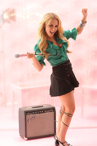 Hayden Panettiere wallpaper possibly with bare legs, hosiery, and a hip boot titled Hayden's Candie's Fall '08 Campaign