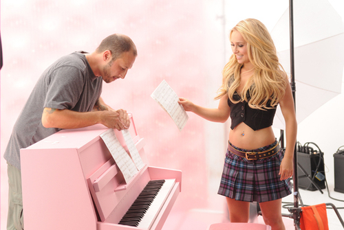 Hayden's Candie's Fall '08 Campaign
