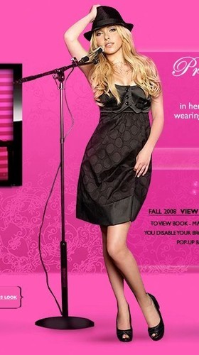 Hayden Panettiere wallpaper probably with a fedora called Hayden's Candie's Fall '08 Campaign