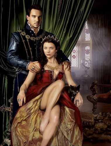 The Tudors wallpaper probably containing a makan malam dress called Henry and Anne