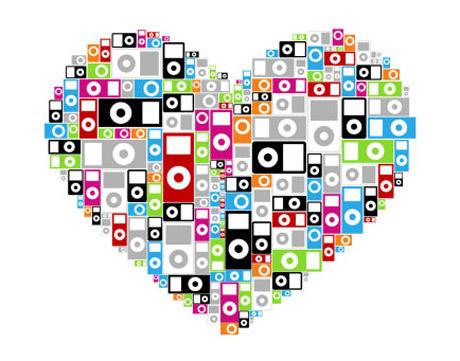 сделать ставку, ipod сердце