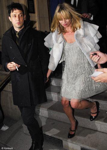 Jamice Hince and Kate Moss