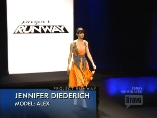 Jennifer's Outfit - Green Model Challenge