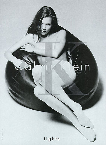 Kate Moss wallpaper possibly containing bare legs and a hip boot entitled Kate Moss For Calvin Klein