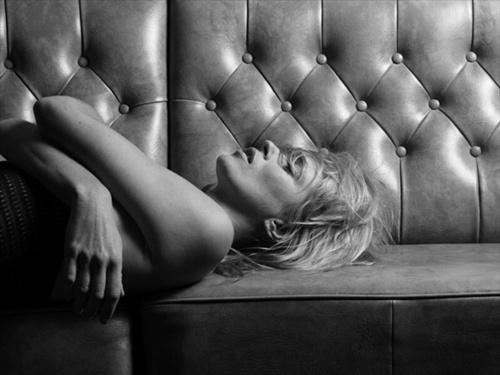 Kate Moss kwa Heidi Slimane