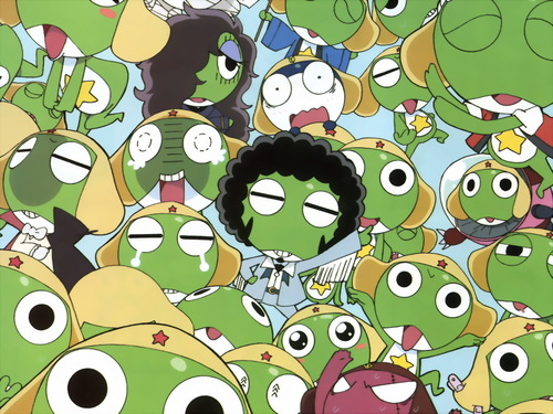 Sgt. Frog (Keroro Gunso) wallpaper called Keroro Gunso Wallpaper